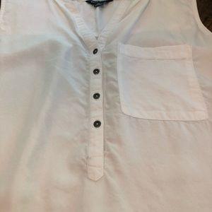 Terre Bleue Tops - Oversized sleeveless blouse
